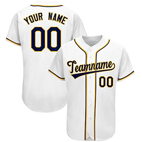 Custom Baseball Jersey for Men Women Youth Personalized Stitched Team Name and Number Big&Tall Size