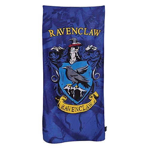 Elbenwald Harry Potter R?cznik pla?owy z Ravenclaw Host Herb motyw 90x180cm Niebieski