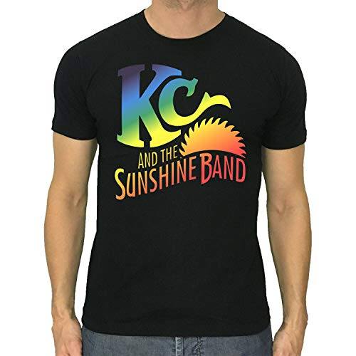Res KC & The Sunshine Band t-Shirt Disco Funk Band Cotton Black Size S to 5XL