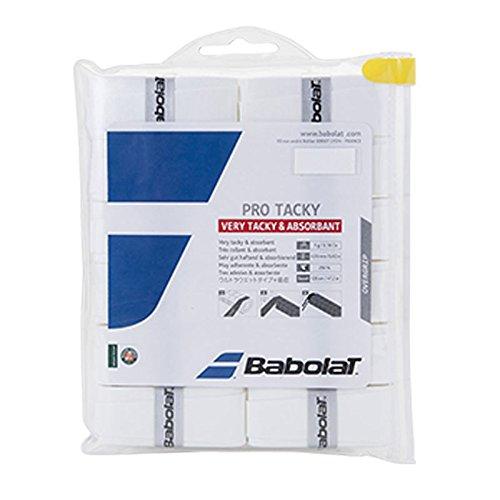 Babolat Pro Tacky Overgrip X 12 Accesorio Raqueta de Tenis, Unisex Adulto,...