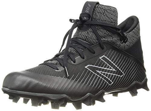 New Balance mens Freezelx 2.0 Box Lacrosse Shoe, Black/Grey, 11.5 US