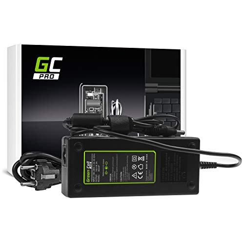 GC Pro Cargador para Portátil Toshiba Satellite P50-C-11H P50-C-11J P50-C-11K P50-C-11L Ordenador Adaptador de Corriente (19V 6.3A 120W)