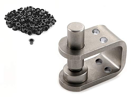 HolsterSmith: KYDEX Eyelet Flaring Tool - [Die w/Guide] - (1/4 Inch) & 100 Pack of 8-9 (1/4 Inch) Eyelets