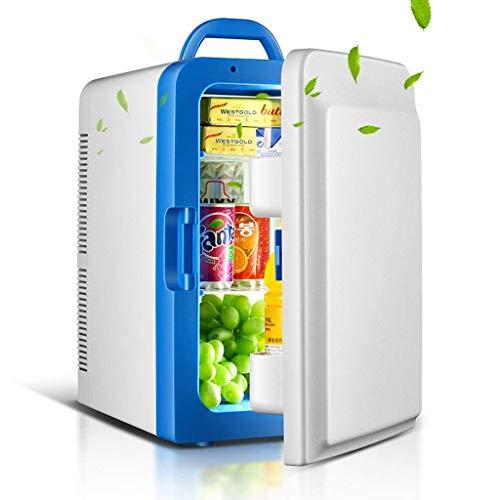 ZUQIEE Refrigerador de coche de 20 L para refrigerador de congelador, refrigerador compartido (color: azul)