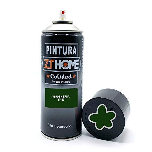 Pintura Spray Verde Hierba 400ml imprimacion para madera, metal, ceramica, plasticos / Pinta todo tipo de cosas y superficies Radiadores, bicicleta, coche, plasticos, microondas, graffiti