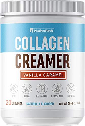 Vanilla Caramel Collagen Coffee Creamer - Perfect for Paleo & Keto Coffee