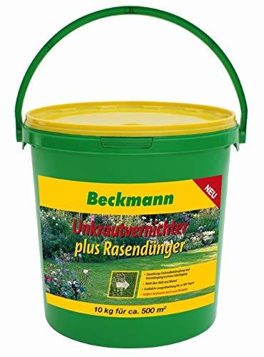 Beckmann Rasendünger mit Unkrautvernichter 10 kg für ca. 500m²
