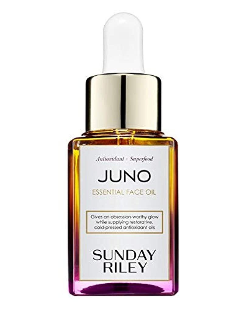非難するコード失望させるSunday Riley Juno Hydroactive Cellular Face Oil 15ml サンデーライリー ジュノ フェイスオイル