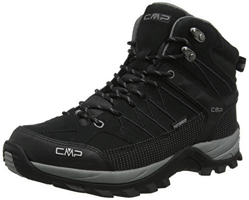 CMP – F.lli Campagnolo Herren Rigel Mid Trekking- & Wanderstiefel, Schwarz (Negro-Grey 73uc), 43 EU