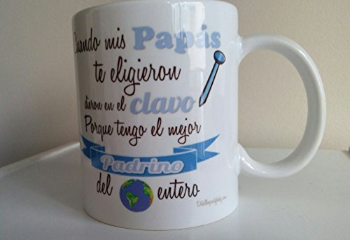 Detalles Party baby Taza Padrino
