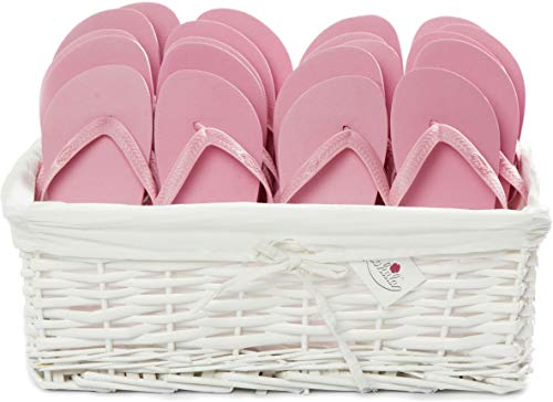 ZOHULA Baby Pink Originals Flip Flop Party Pack - 20 Paar ([2XS][15xM][3XL])