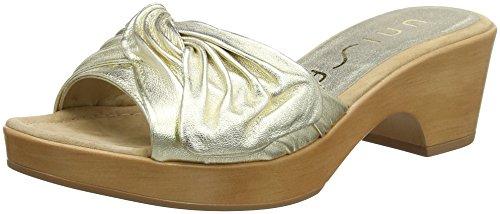 Unisa Damen IRAS_LMT Clogs, Gold (Platino), 39 EU