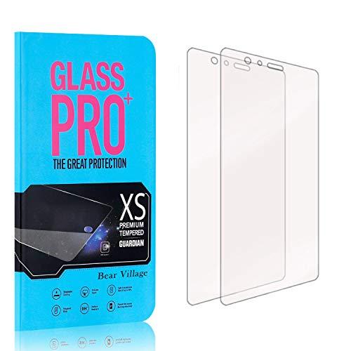 Bear Village® Displayschutzfolie für Huawei P9 Plus, 9H Härtegrad Displayschutz, 99% Transparente, 3D Touch Schutzfilm aus Gehärtetem Glas für Huawei P9 Plus, 2 Stück