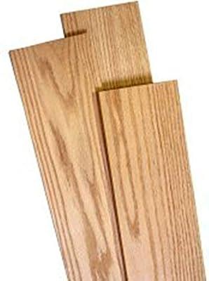 "Wood-Hawk Red Oak Thin Wood Lumber 2 Pack - 1/4"" x 3"" x 36"""