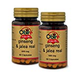 Ginseng & jalea real 600 mg. 60 capsulas (pack 2 unid. )