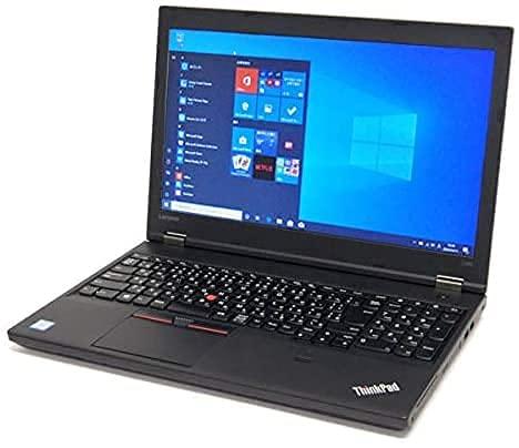 外付けWebカメラ付き【Win 10搭載】lenovo ThinkPad L570 ★第7世代Core i5(2.5GHz)/8GBメモリ/SSD512GB/15.6インチ /WiFi&Bluetooth/DVDマルチ/最新版Office/中古パソコン (整備済み品)