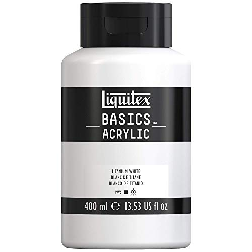 Liquitex Basics Acrylic Bote De Pintura Acrílica, Blanco de
