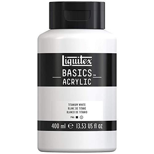 Liquitex Basics Colore Acrilico 400ml - Bianco Di Titanio