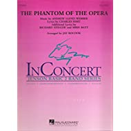 Hal Leonard The Phantom of the Opera (Main Theme) Concert Band Level 2 Arranged by Jay Bocook