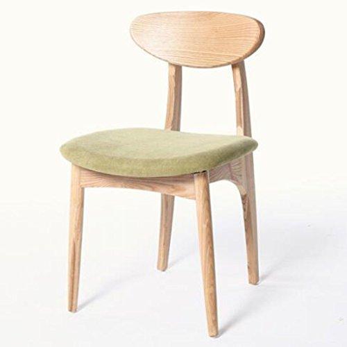 Tabouret en bois Chaise de salle à manger en bois massif chaise papillon café créative chaise simple dos loisirs bureau et chaise Chaises nordiques en bois massif (Couleur : #1)