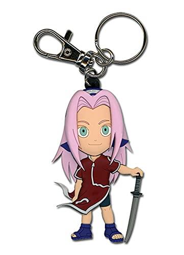 Great Eastern Entertainment Naruto Sakura PVC SD Keychain