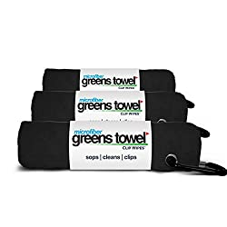 Greens towel golf towel