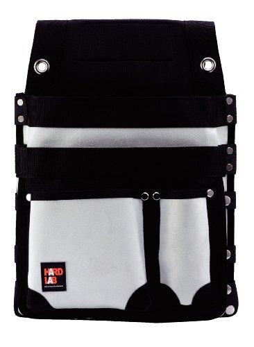ハードラボ(HARD LAB) 仮枠釘袋 鋲止 マチ付 ホワイト HL-307W