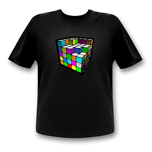 LED-Fashion Cube T-Shirt (XL)