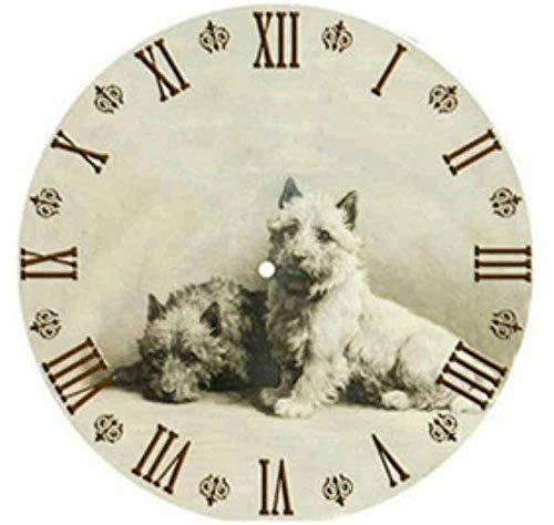 Reloj de pared Diamante 5D mosaico Venta escénico reloj de DIY diamante bordado del sistema completo de flores Reloj 5D diamante Pintura completa cuadrado de la flor-100077_50x50cm ronda Reloj decorat