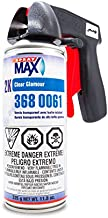 Spraymax 2K Clear Coat Spray Can - High Gloss Clear Coat for Repair and New Paint Jobs - Diverse Applications - Professional Results - Bundled with Moshify Spray Can Trigger