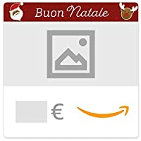 buono regalo amazon.it - digitale - personalizzato - biscotti di natale