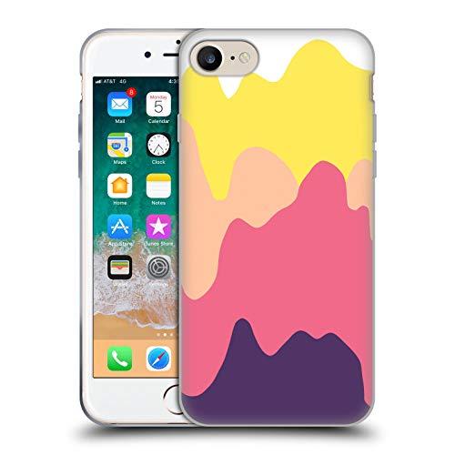 Head Case Designs Oficial Ninola Splash Rosa Moderno 2 Carcasa de Gel de Silicona Compatible con Apple iPhone 7 / iPhone 8 / iPhone SE 2020
