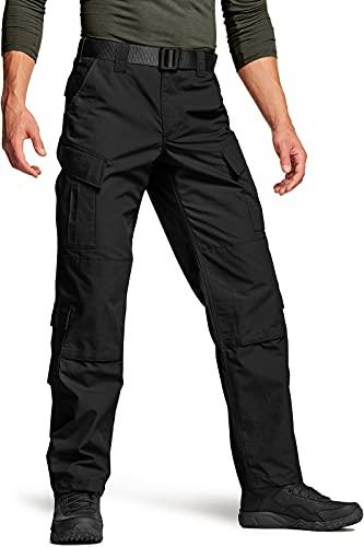 CQR Men's Tactical Pants, Military Combat BDU/ACU Cargo...