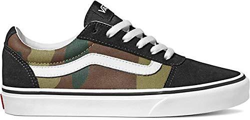 Vans Women's Ward Suede/Canvas Low-Top Sneakers,...