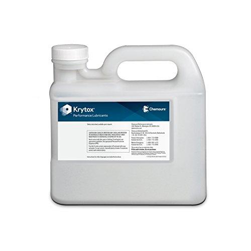 Krytox by Chemours 1514 Vacuum Pump Oil 5 kg/11.01 lb. Bottle - Mid Viscosity, Model: D12339162