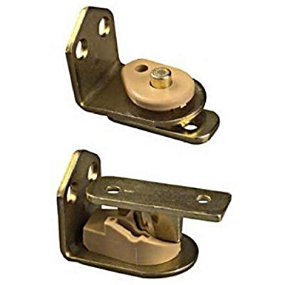 National Hardware Swing N Stay Cafe Door Hinge in Brass
