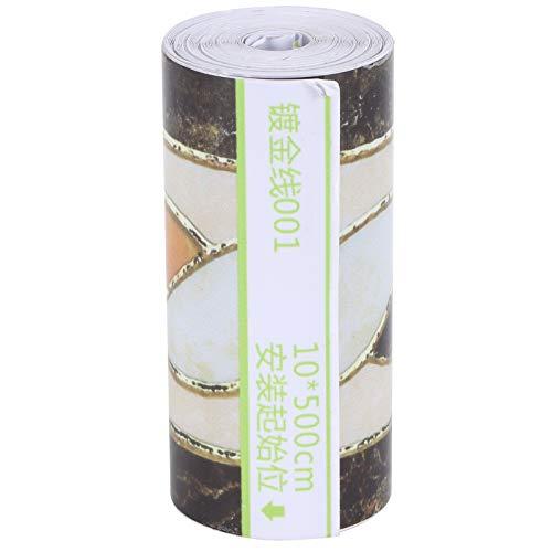 Adhesivo de pared, papel tapiz Calcomanías de pared Mejoras para el hogar Diseño adhesivo exquisito Durable para la decoración del hogar