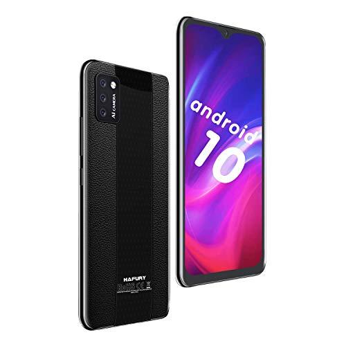 Teléfono Móvil Libre 4G, HAFURY M20 Android 10.0 (2020) Dual Sim Smartphone Desbloqueado, Pantalla 5.5 Inch FHD con batería de 3100Mah, 16GB ROM, (Ampliable hasta 128 GB Doble cámara 8MP+13MP, Negro