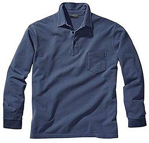 Polo pour homme de b.c. bleu - Bleu - 46