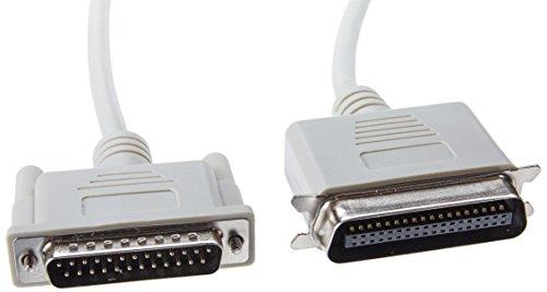 Manhattan CABITL040 Cable Paralelo - 1, 8 M, Macho/Macho, Color Pack of/Paquete de 1
