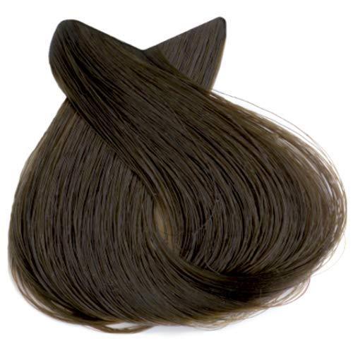 Tahe Organic Care Dauerhafter Farbstoff Haar-Farbe, Nein.6.52 Dark Mahogany Pearl Blonde, 100 ml