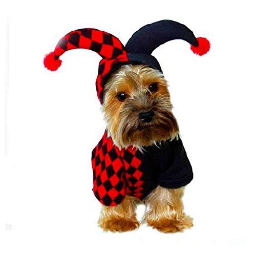 Disfraces de Mascotas para Gatos/Perros Disfraz de Mascota Puppy Cat Disfraces Ropa Pet Cute Cat Dog Dress Up Accesorios for Pascua Halloween Navidad Ropa Divertida Festival Dress Up Accesorios de V