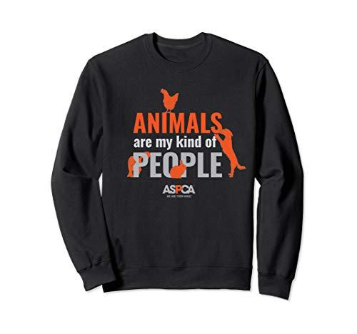 ASPCA Animals Are My Kind of People Sweatshirt Dark