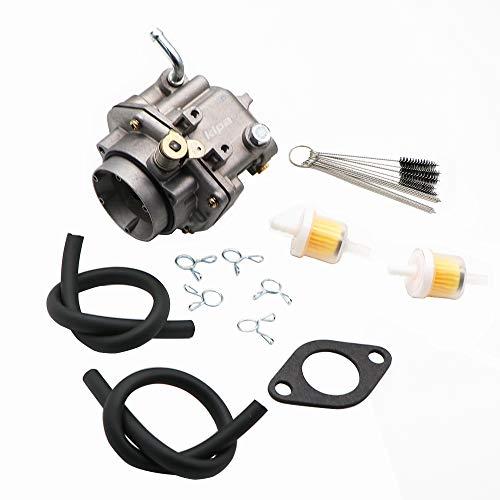 KIPA Carburetor For ONAN B48G P220G 146-6100 146-0479 146-0414 146-0496 Fits Miller Onan Engine P126G P128G P220G OL16 OL18 OL20 LX720 LX770 LX790 B48G-GA020 B48G-GA19.9 With Carbon Dirt Jet Cleaner