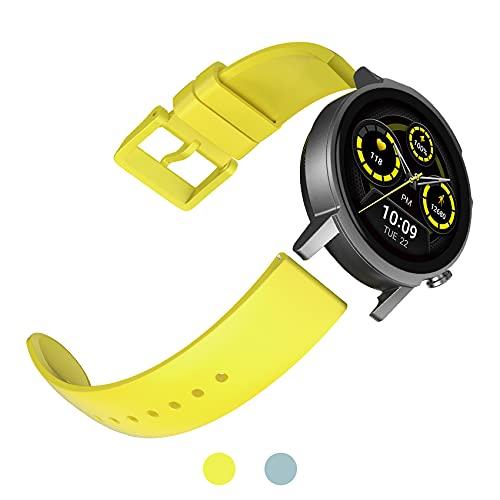 TicWatch E3 Cinturino orologio, cinturino di ricambio per cinturini TicWatch E3, cinturini in...