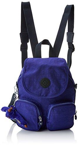 Kipling Damen Firefly Up Rucksack, Violett (Summer Purple),14x22x31 centimeters