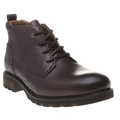 Tommy Hilfiger Herren Winter Shearling Lining Boot Klassische Stiefel, Braun (Coffee Bean 212), 40 EU
