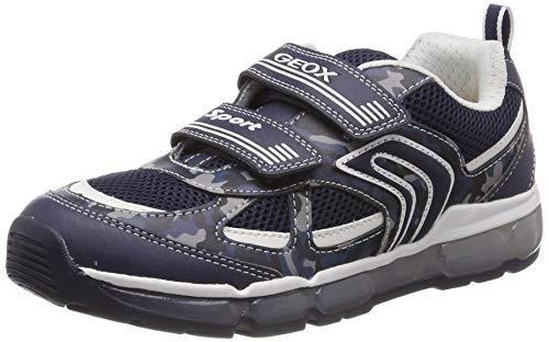 Geox Jungen J Android Boy C Sneaker, Blau (Navy/White C4211), 29 EU