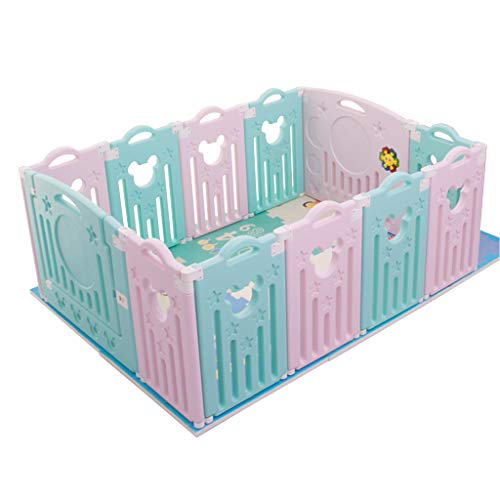 New CHULQY Baby Fence Home Children's Play Fence Baby Baby Toddler Safety Fence Indoor Play Game Fen...