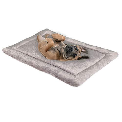 PHD Primera Hundekissen Komfort L grau 75x55 cm, allergikerfreunlich (100% Polyester) - 40°C...